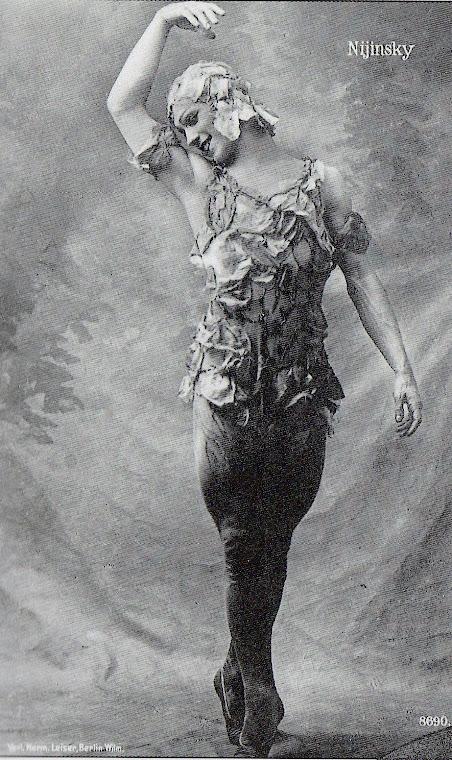 Balé: O Espectro da Rosa (1912).