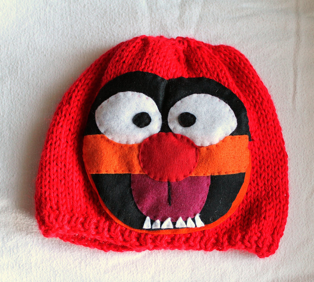 animal muppets hat