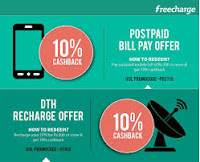 (LIVE) Get Rs.75 Cashback on Postpaid Mobile Bill of Rs 1000 Via Freecharge.in:buytoearn