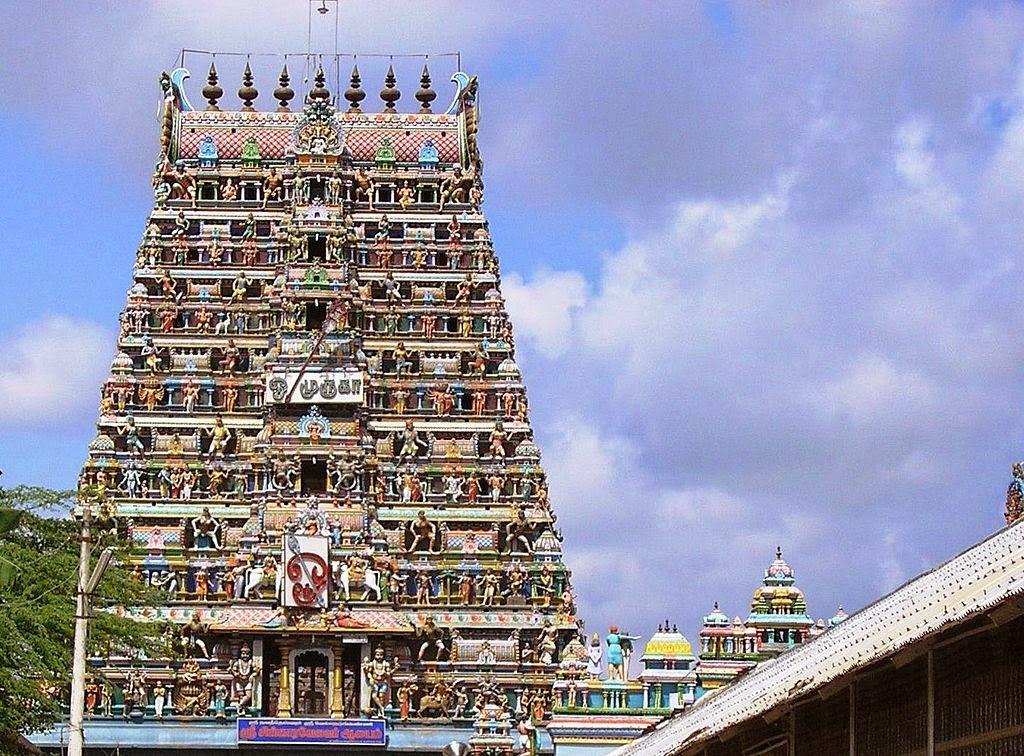 Sikkal Singaravelan Temple Nagapattinam