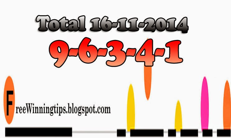THai Lottery Lotto Sure Total 16-11-2014
