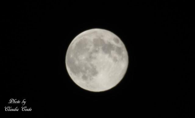 Maior e mais brilhante. É assim que a lua cheia se apresentou no céu, num fenómeno que só volta a repetir-se daqui a 18 anos