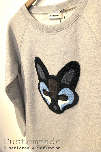 sweat renard Custommade