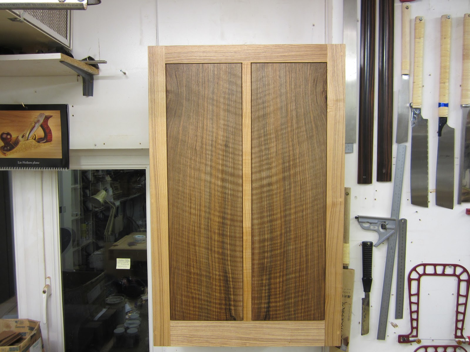 Superb img of This is the cabinet closed the main carcass is quarter sawn olive ash  with #66482A color and 1600x1200 pixels