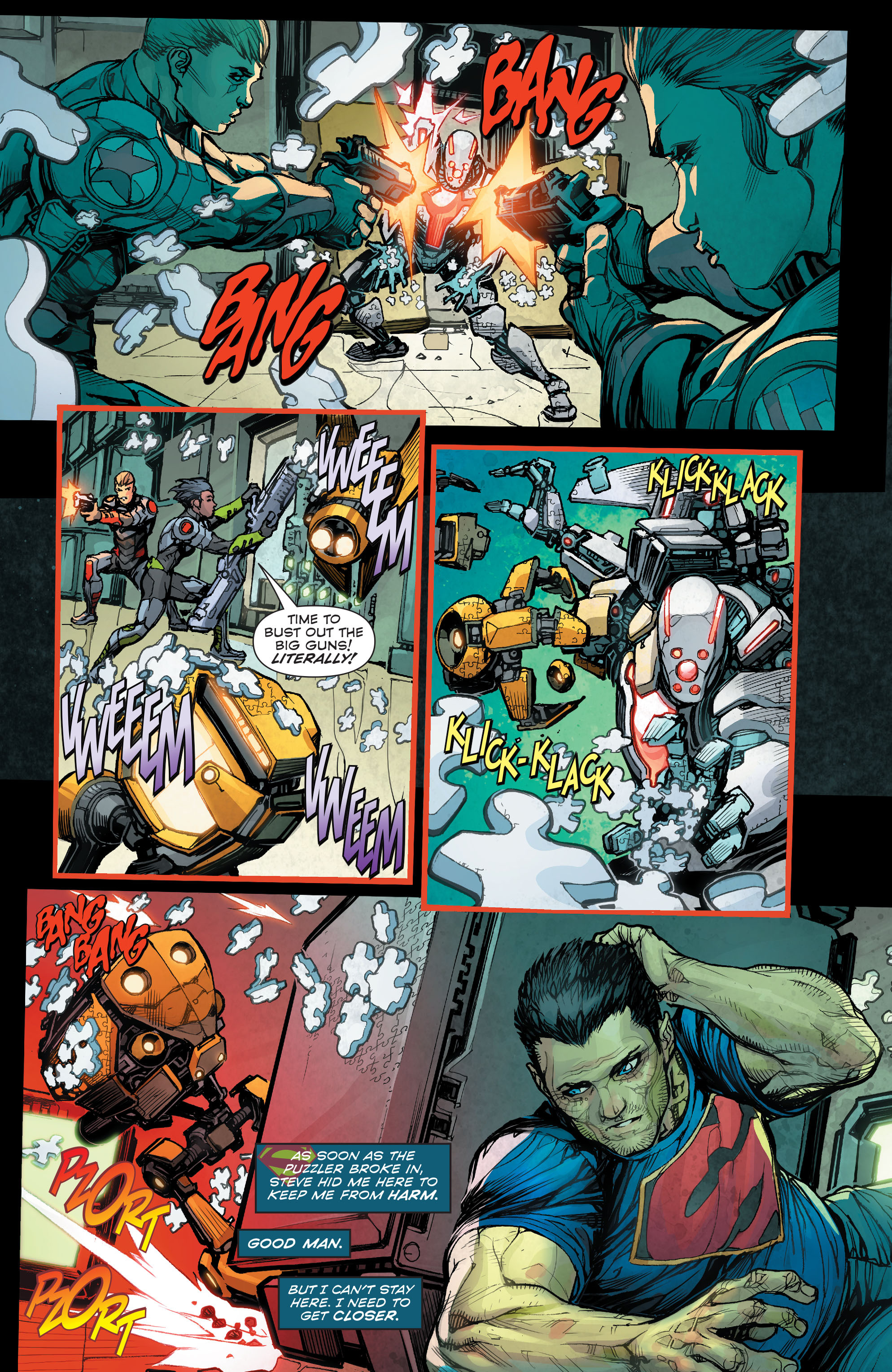 Read online Superman (2011) comic -  Issue #48 - 20