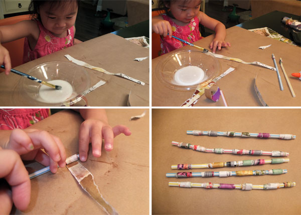 DYI kid's craft