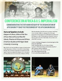 Africa &amp; U.S. Imperialism Conference In Detroit