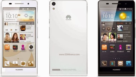 Huawei launches Ascend P6 S