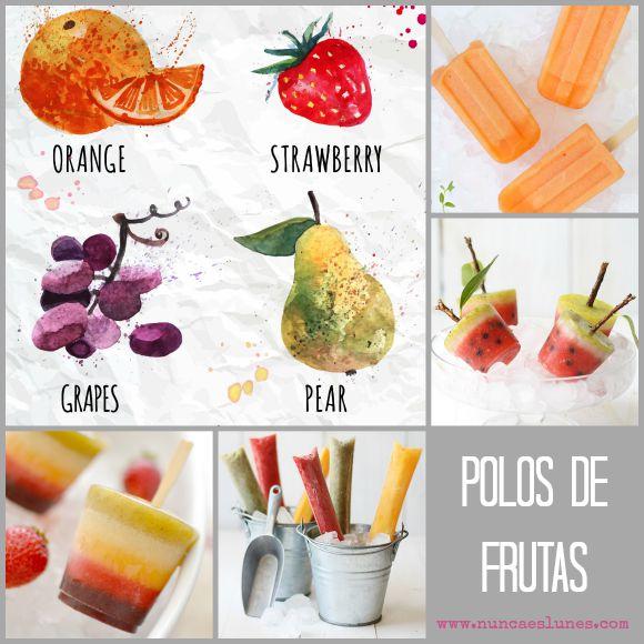 polos caseros frutas