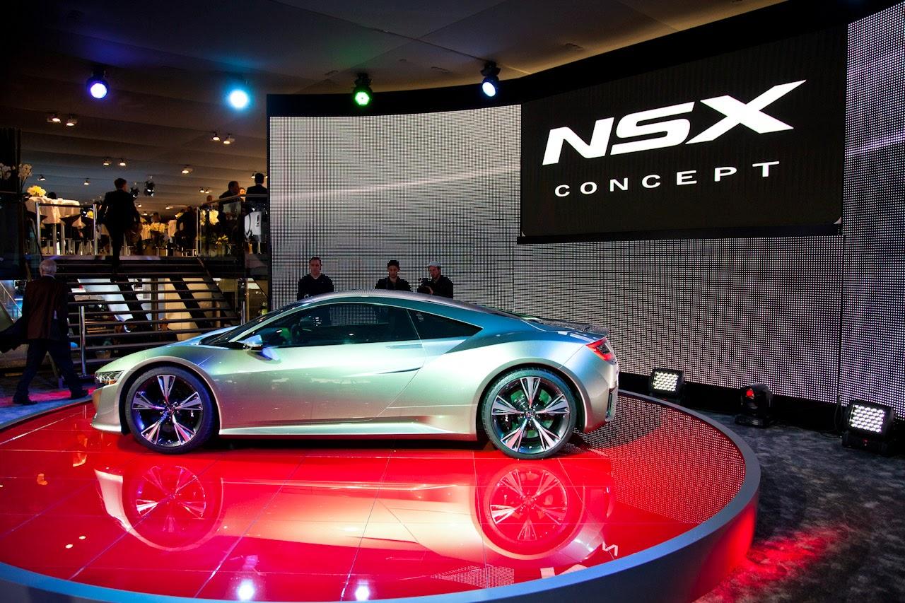 Honda NSX Concept Car 2015 Model