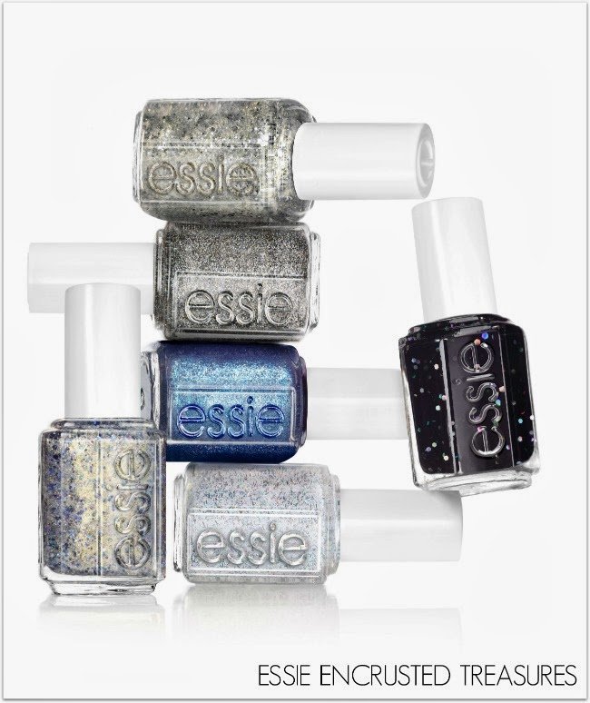 Essie Encrusted Treasures nail polish collection