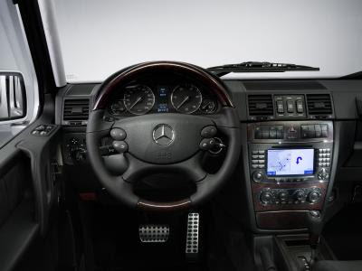 Mercedes g500 Review Interior.