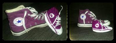 zapatos ganchillo bebé