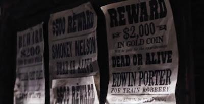 Poster de Se Busca a Edwin Poter en Django Unchained