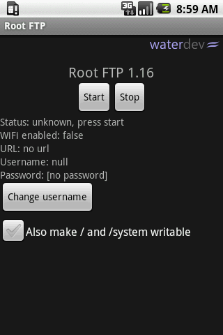 Root FTP Server v1.19 Apk