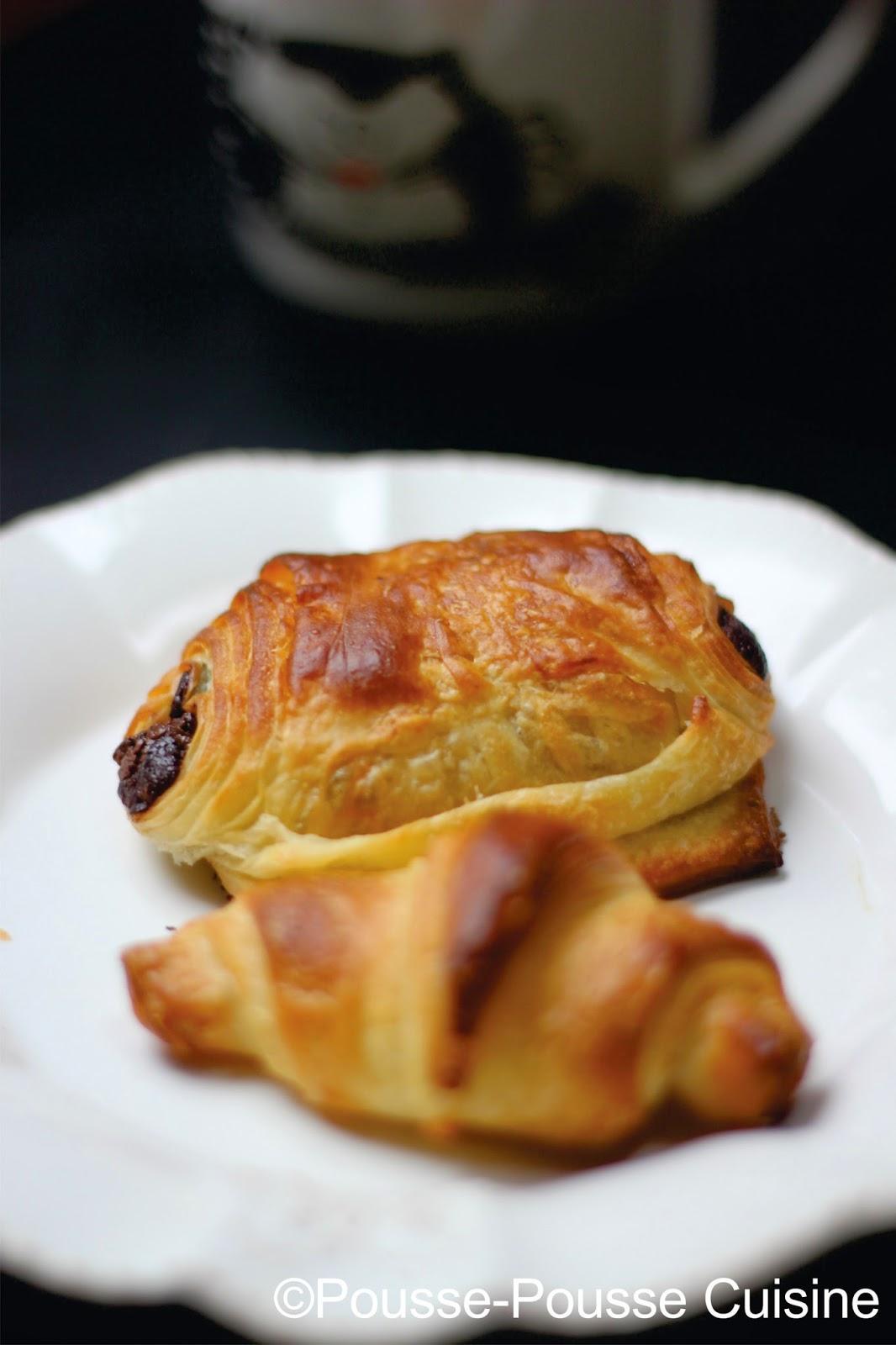 pousse pousse cuisine croissants et pains au chocolat p 226 te feuillet 233 e maison