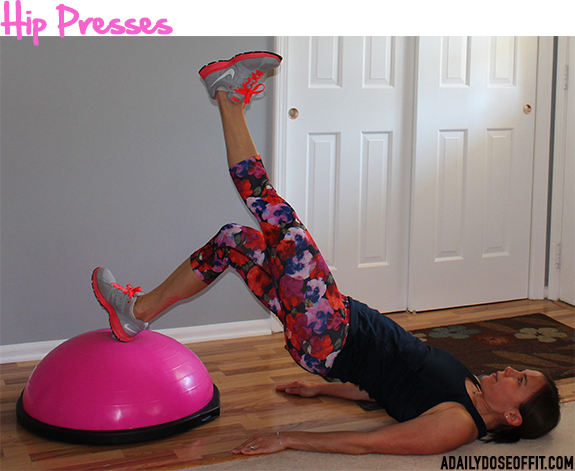 glutes exercise, hamstrings exercises, bosu exercise, pink bosu, sweat pink, fit approach, fitfluential