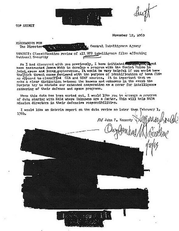 Documentos demuestran que John F. Kennedy fue asesinado días después de exigir respuesta acerca de los Ovnis a la CIA