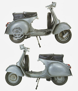 Vespa150cc GranSport VS1T