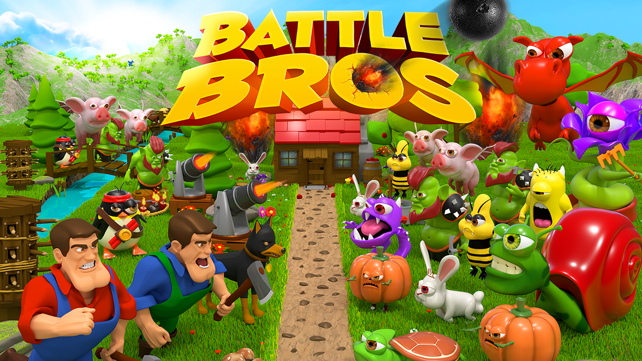 Battle Bros - Tower Defense