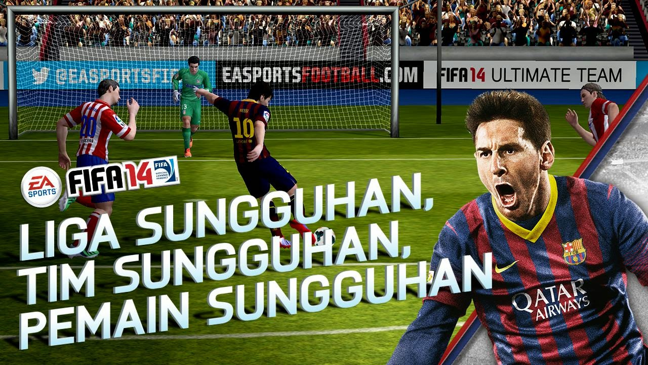Free Download Game FIFA 2014 .APK Full Data
