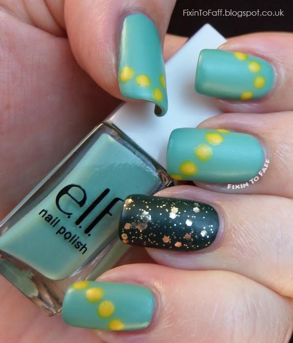 Wimbledon Nail Art