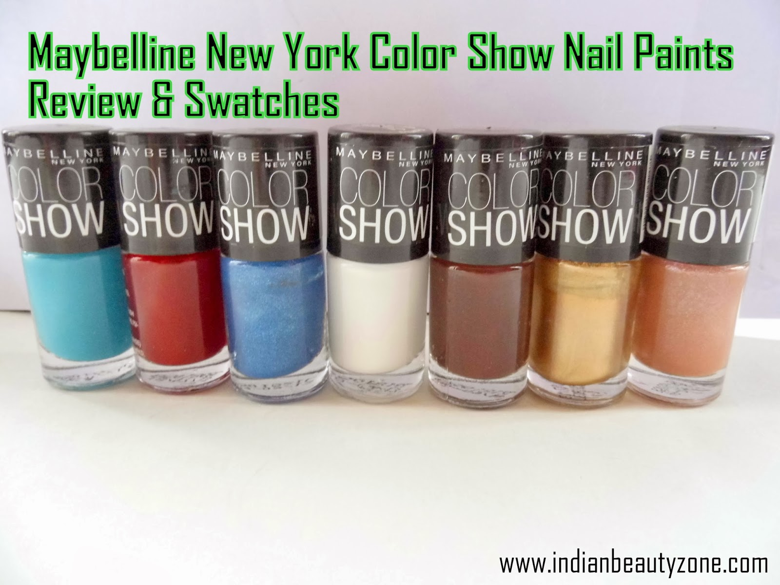 Best affordable nail polishes from Maybelline