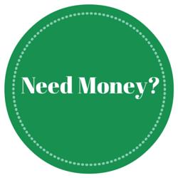 Circle Saying Need Money