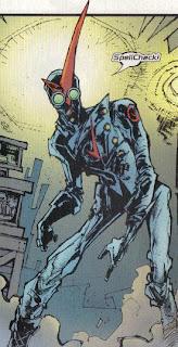 Creato da Ted McKeever in Spider-Man's Tangled Web#18 - Marvel Comics
