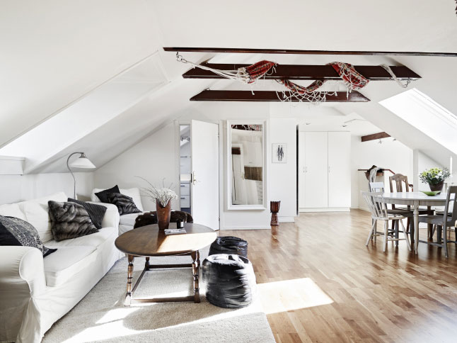 Una casa de espacios abiertos alquimia deco - Decoracion espacios abiertos ...