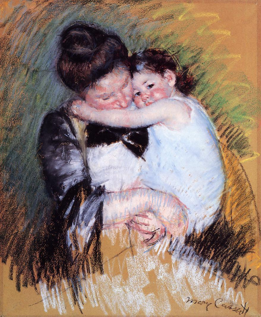 mother and child relationship paintings for kids