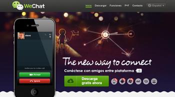crea conferencias de chat con WeChat - www.dominioblogger.com
