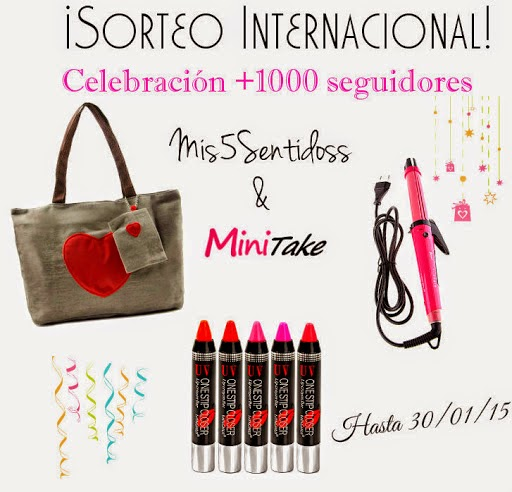 ¡Sorteo Internacional con Minitake!