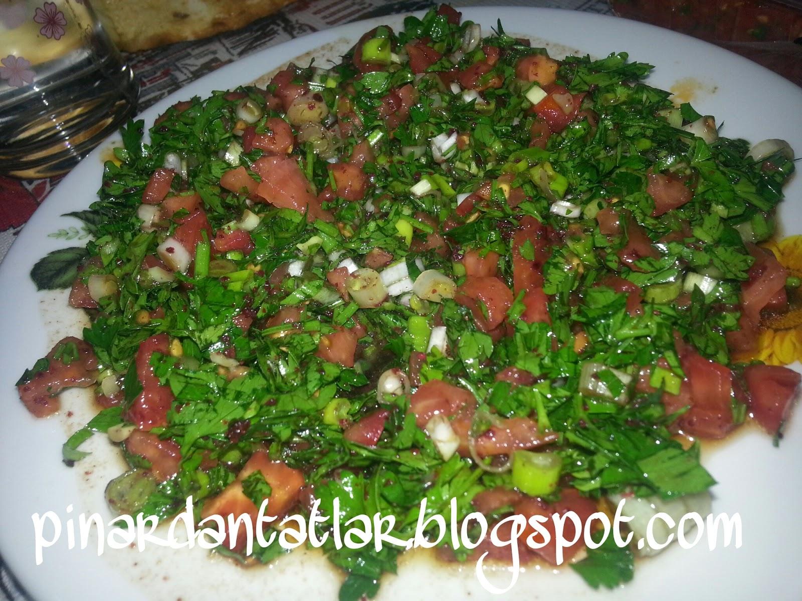 Soğan Salatası Tarifi – Salata Tarifleri
