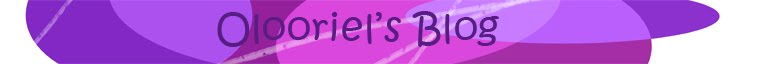 Olooriel's Blog
