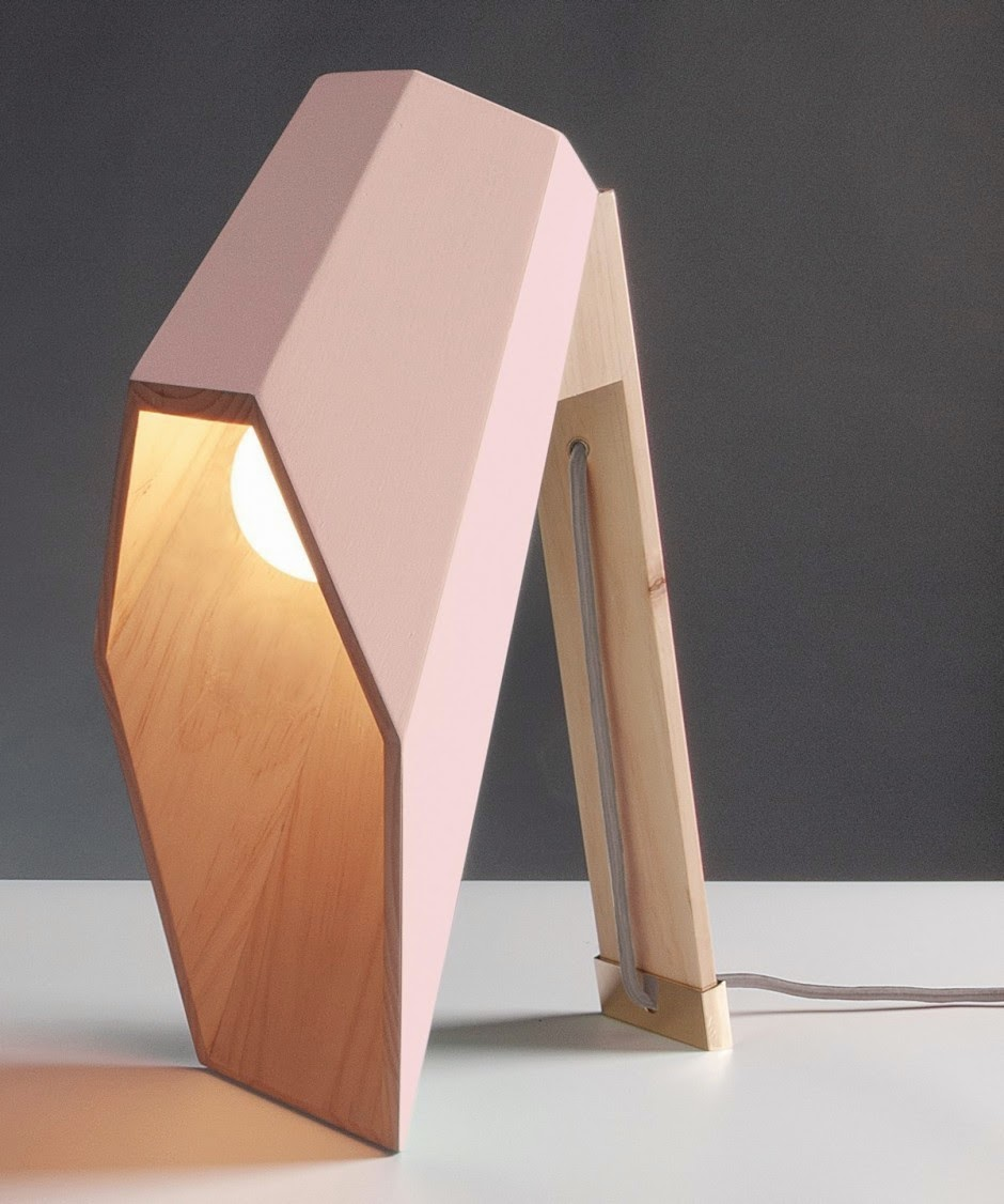 smarowidla wood table lamp furniture by alessandro zambelli. Black Bedroom Furniture Sets. Home Design Ideas