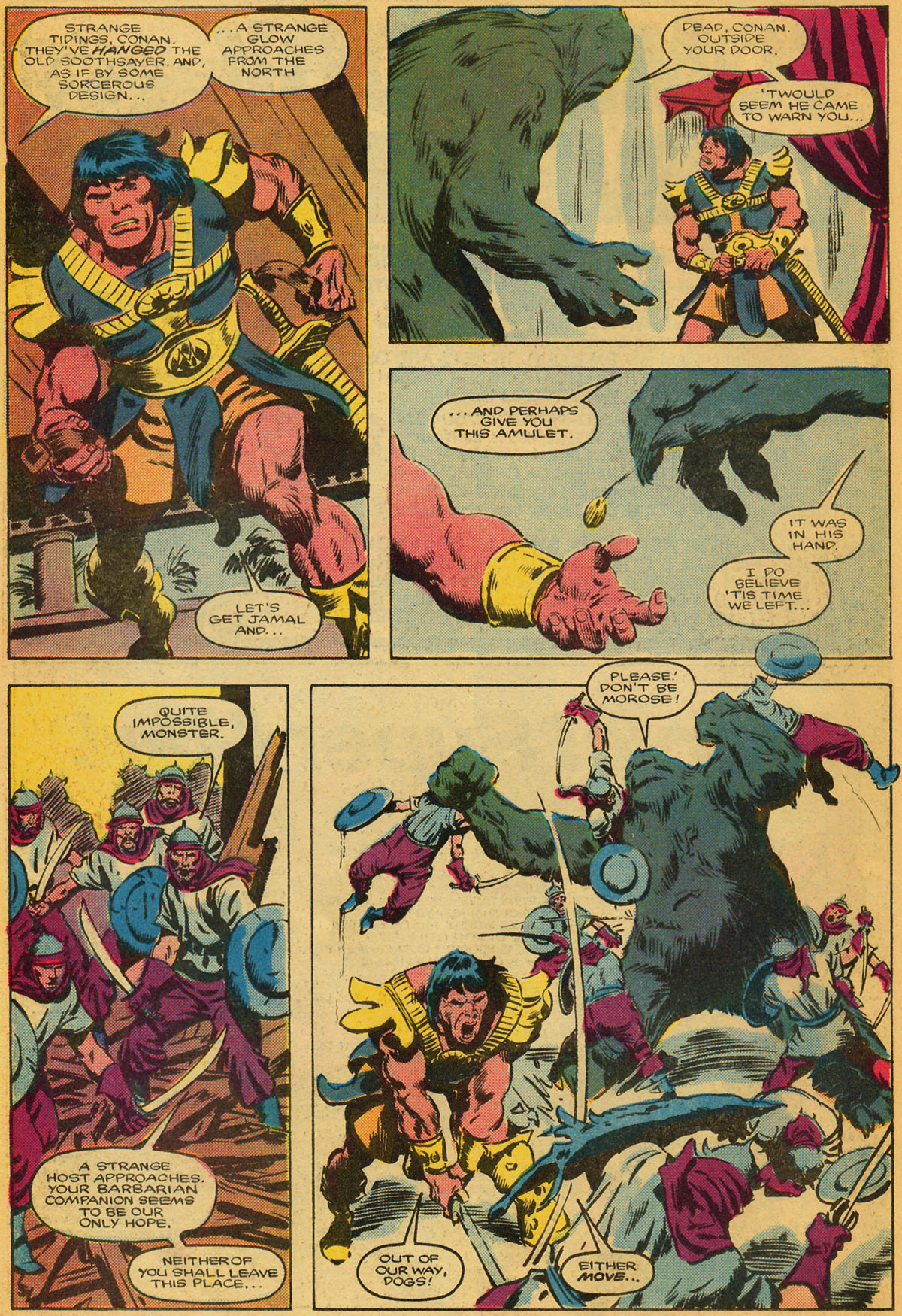 Conan the Barbarian (1970) Issue #179 #191 - English 19