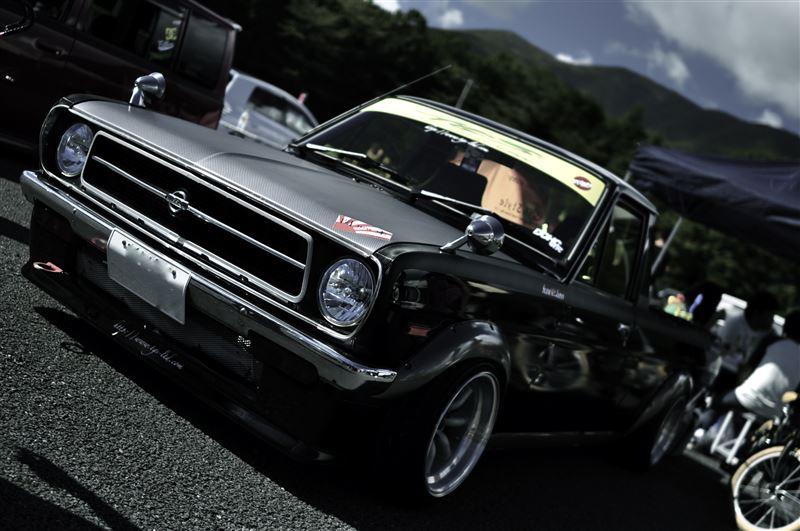 Nissan Sunny Truck, Sanitora, stary japoński samochód, zdjęcia, fotki, galeia, klasyki