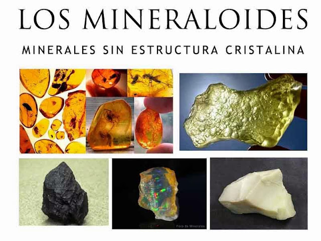 Los mineraloides | que son los mineraloides