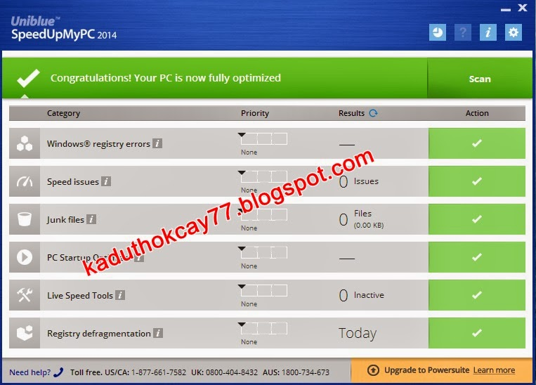 Download Uniblue SpeedUpMyPc 2014 6.0.1.1 Final Full Version