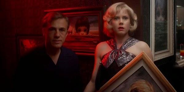 Christoph Waltz e Amy Adams em GRANDES OLHOS (Big Eyes)