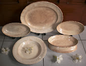 Set Ceramic Bristol 1945 made in England