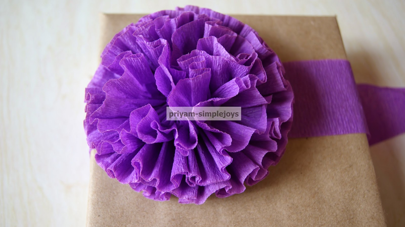 Simplejoys crepe paper flowers crepe paper flowers mightylinksfo Images