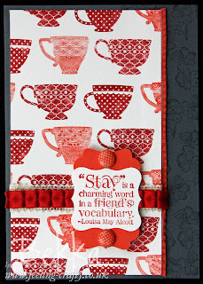 Tea Shoppe from Stampin' Up!