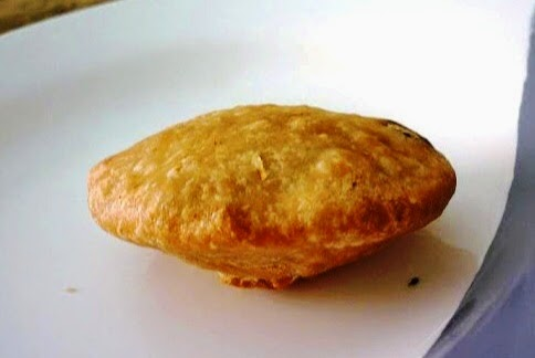 tea snack Kachori Indian