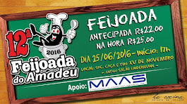 12ª Feijoada do Amadeu