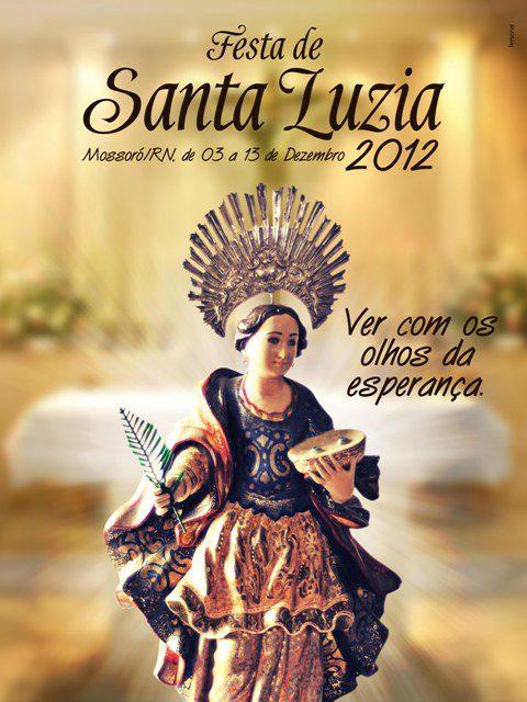 Festa de Santa Luzia, Padroeira da Diocese de Mossoró
