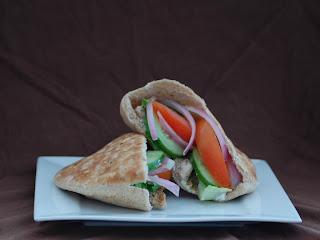 recipe swap chicken shawarma the redhead baker. Black Bedroom Furniture Sets. Home Design Ideas