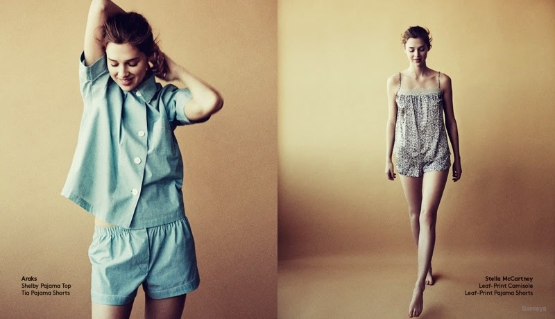 Barneys Trend Update Lingerie and Sleepwear Lookbook 2015 featuring Anais Pouliot