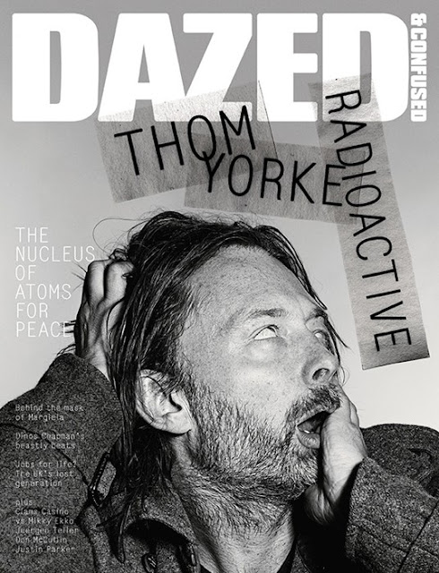 Thom Yorke by Richard Burbridge for February's Dazed & Confused-3